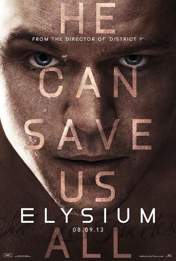 'Elysium' film poster