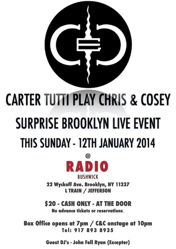 C&C Extra show flyer copy