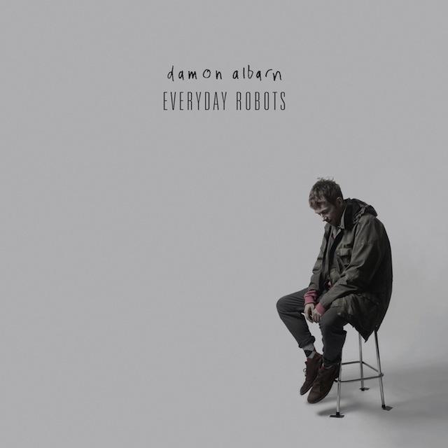 Damon Albarn - 'Everyday Robots' album cover