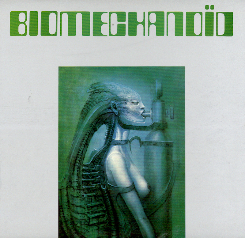 'Biomechanoid' album cover