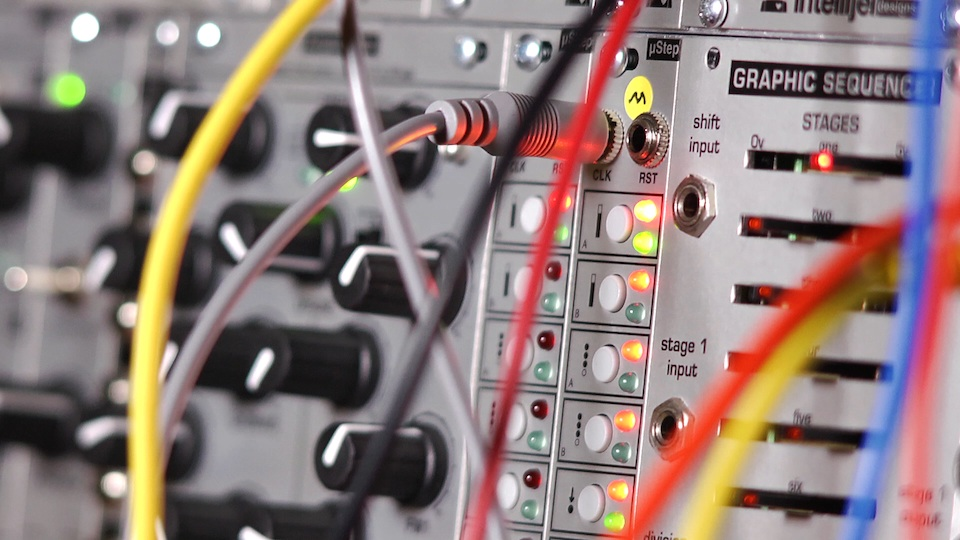 Eurorack synthesizer gear