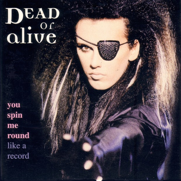 _Dead Or Alive - You Spin Me Round (original remixes) CD Front cover