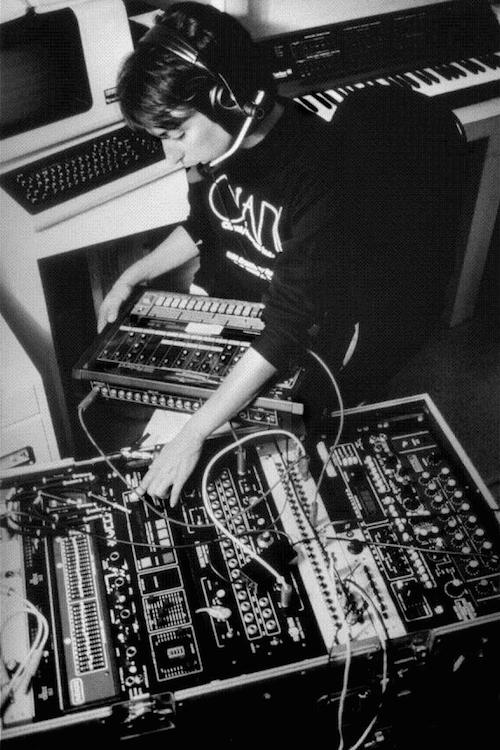 Suzanne Ciani in studio