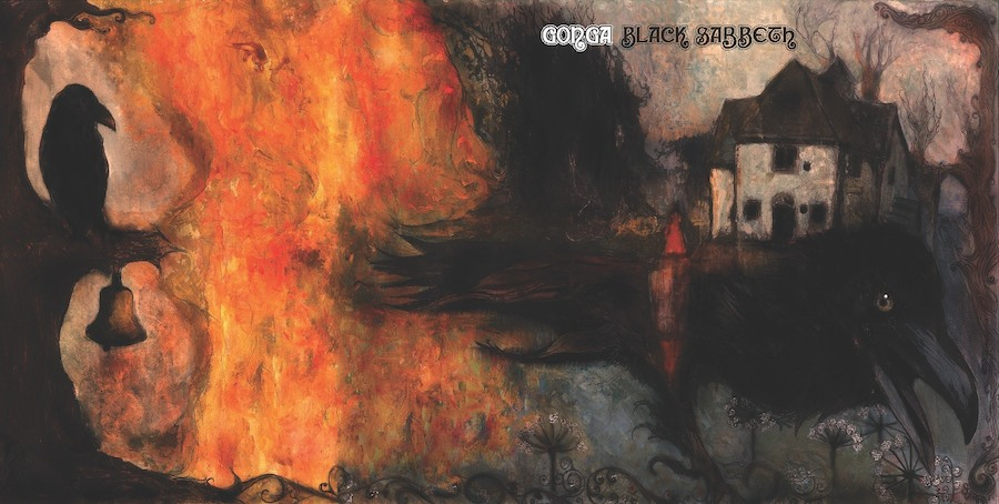Gonga - 'Black Sabbeth' album art