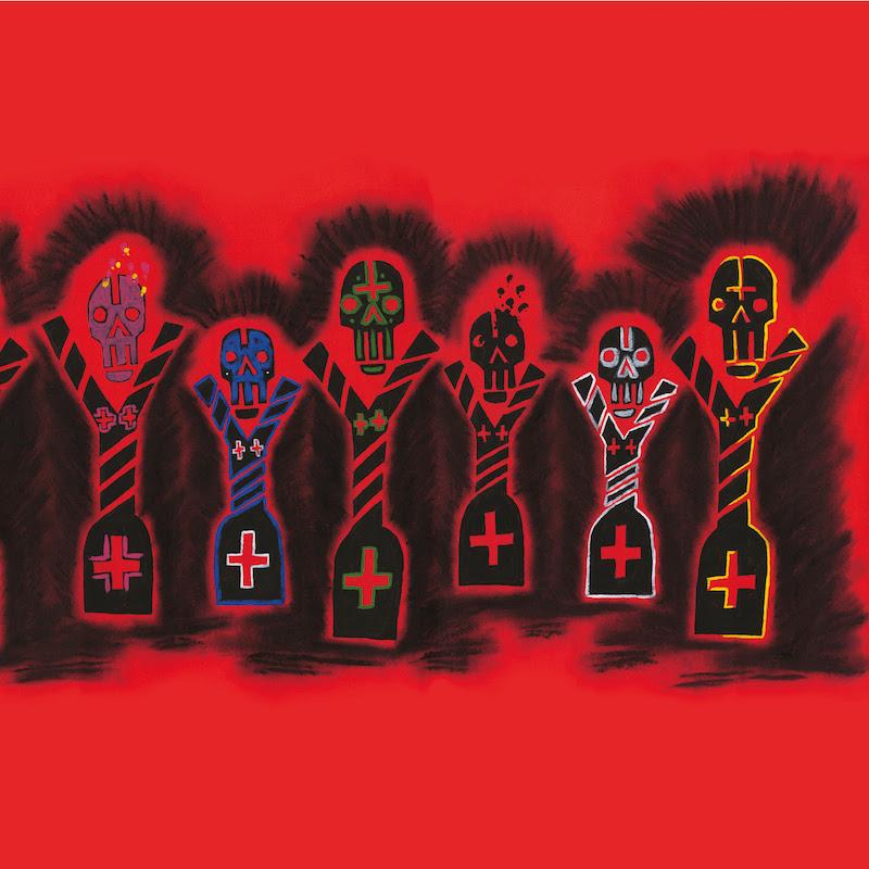 Cut Hands - 'Festival of the Dead' album art