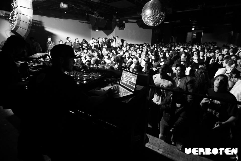 Hyperdub's Verboten party