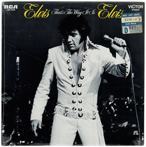 Elvis Presley - 'That's the Way It Is' album cover
