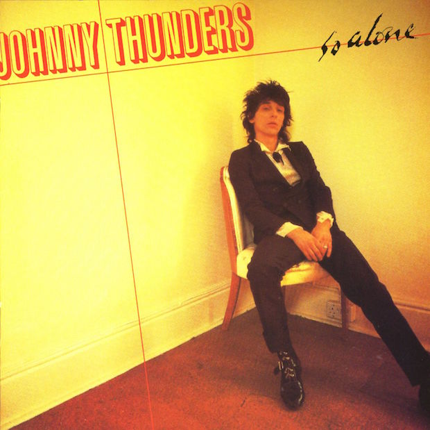 Johnny Thunders - 'So Alone' album cover