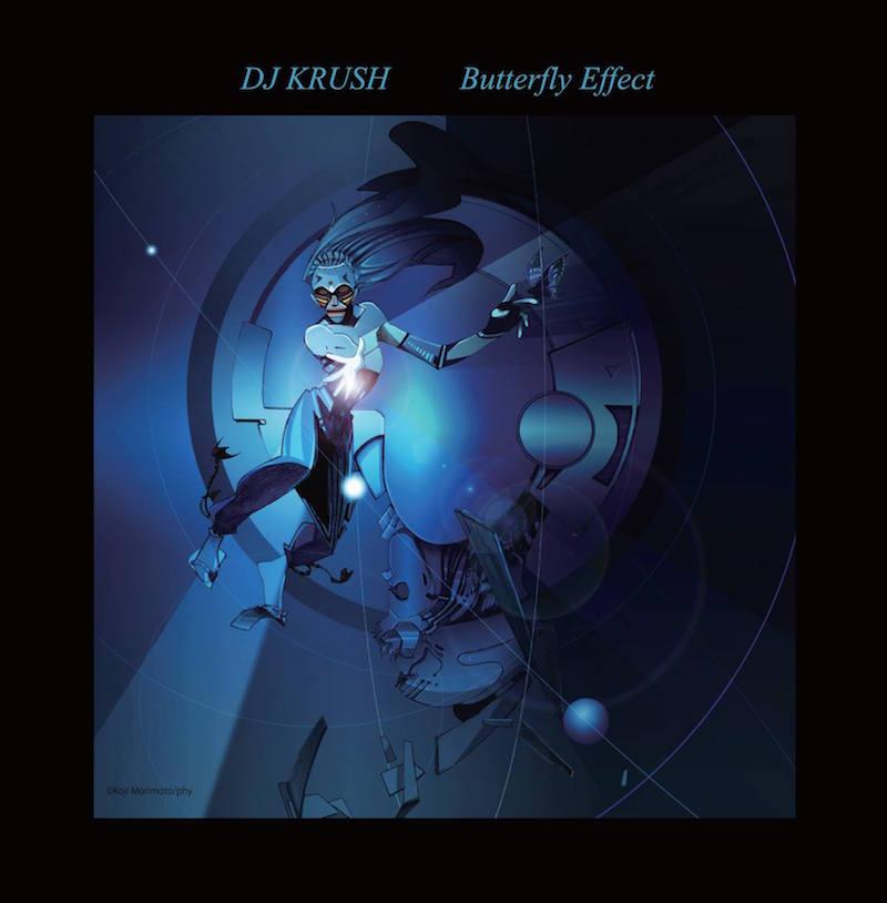 DJ Krush - 'Butterfly Effect' album cover