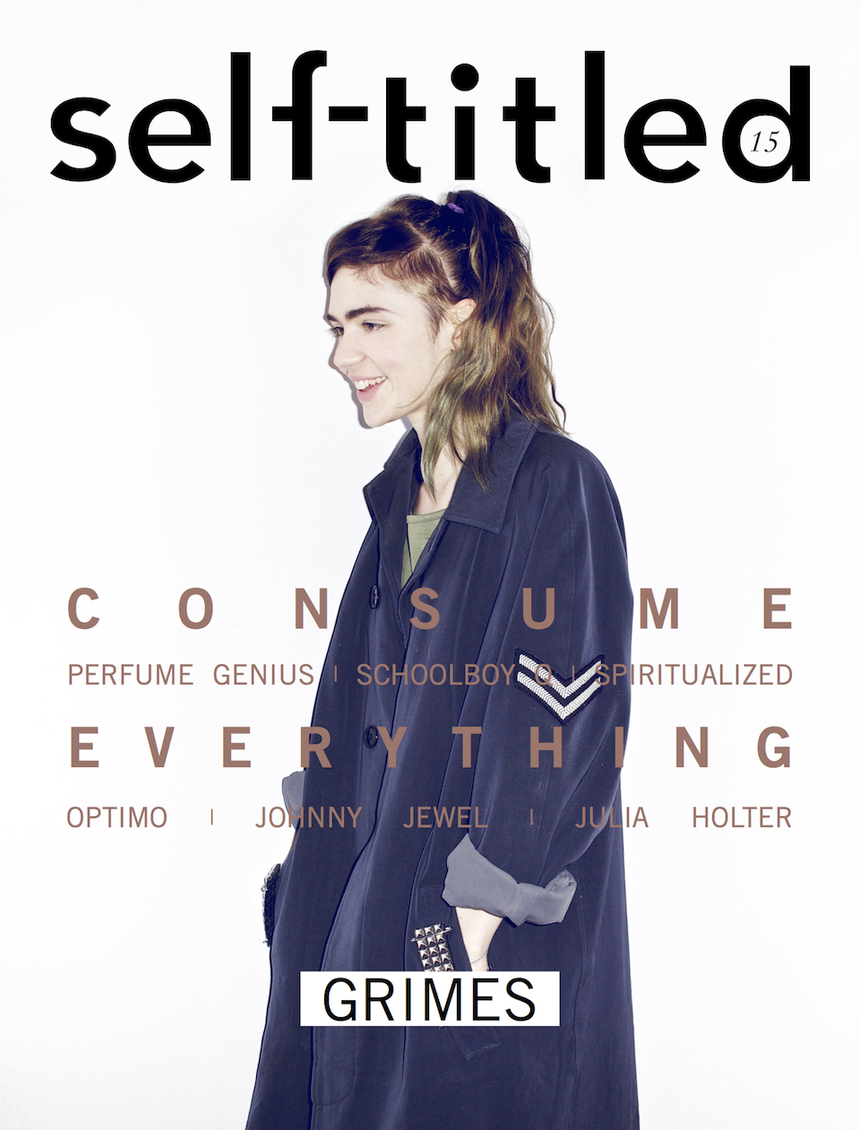 Grimes magazine cover