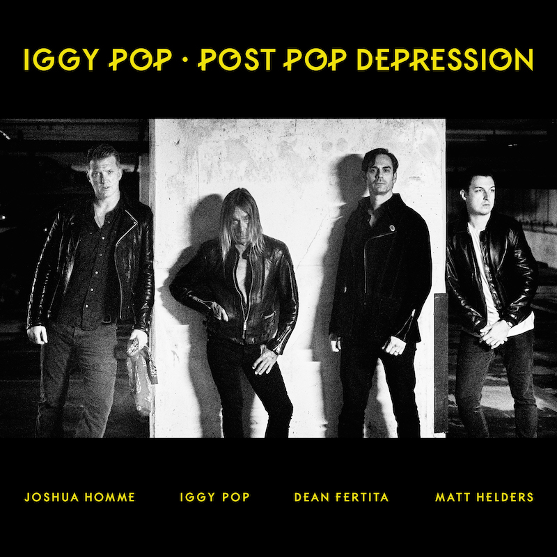 'Post Pop Depression' album cover