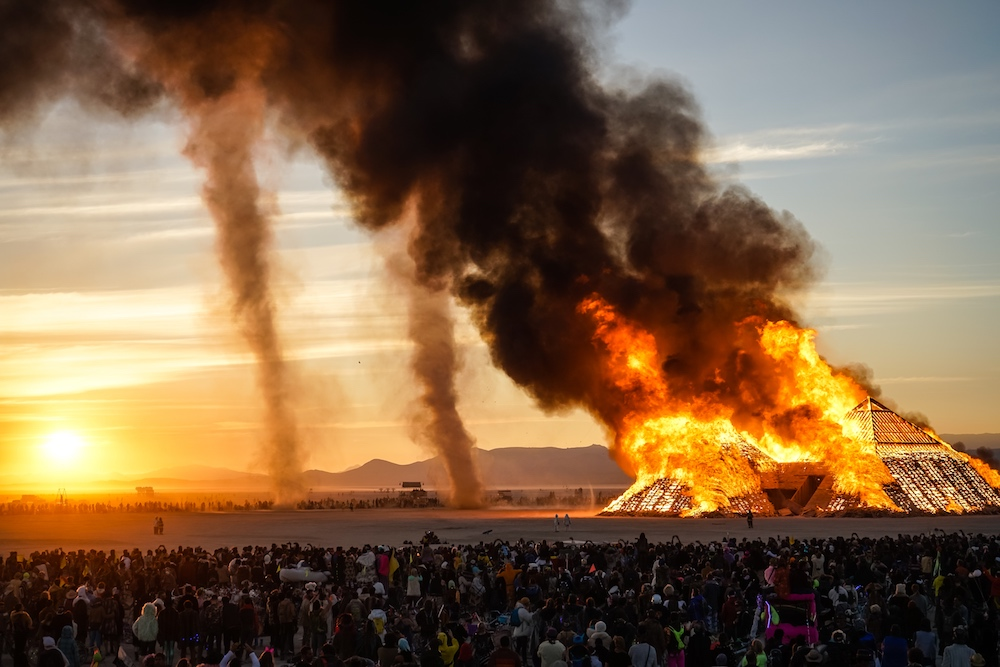 DJ Tennis @ Burning Man