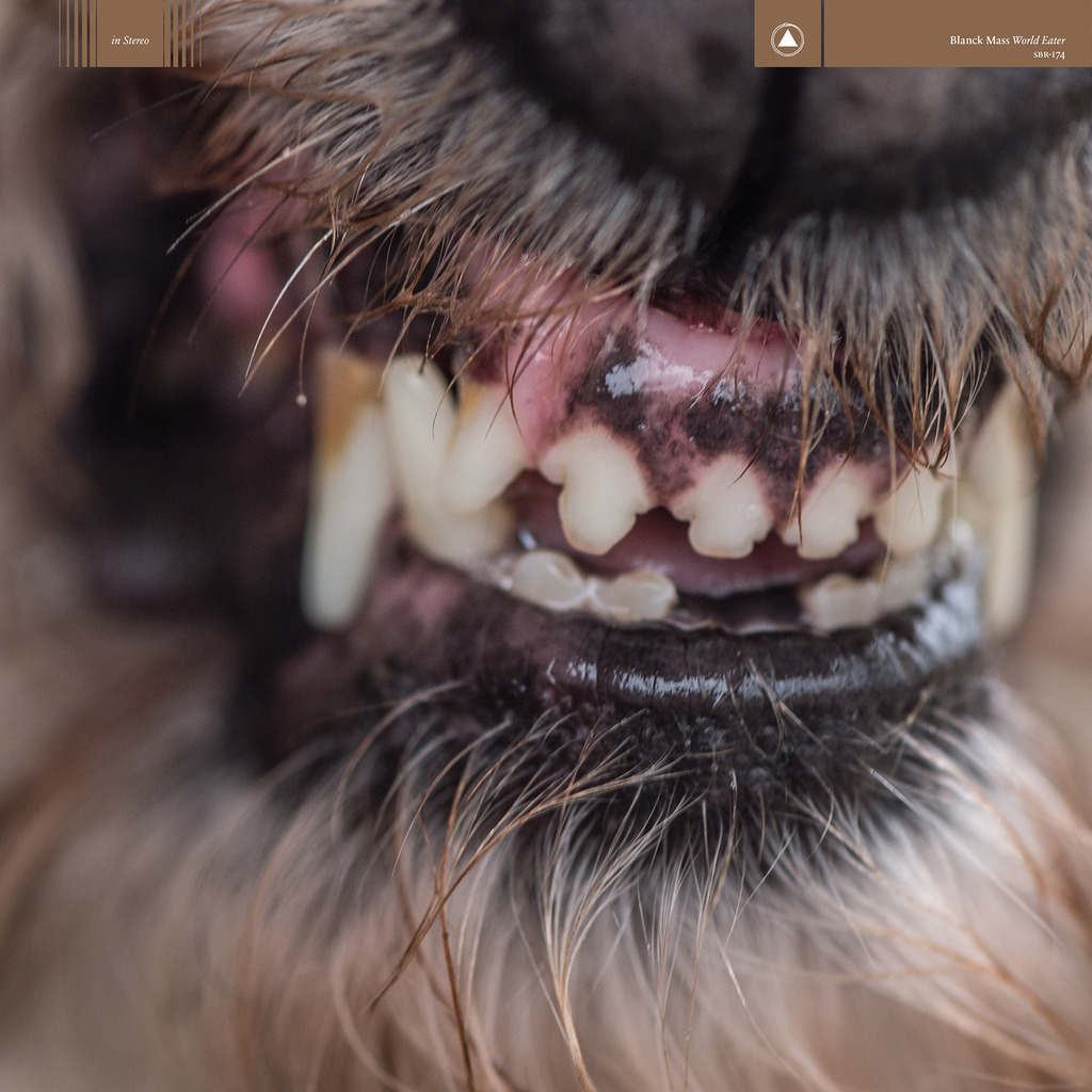 Blanck Mass - 'World Eater' album art