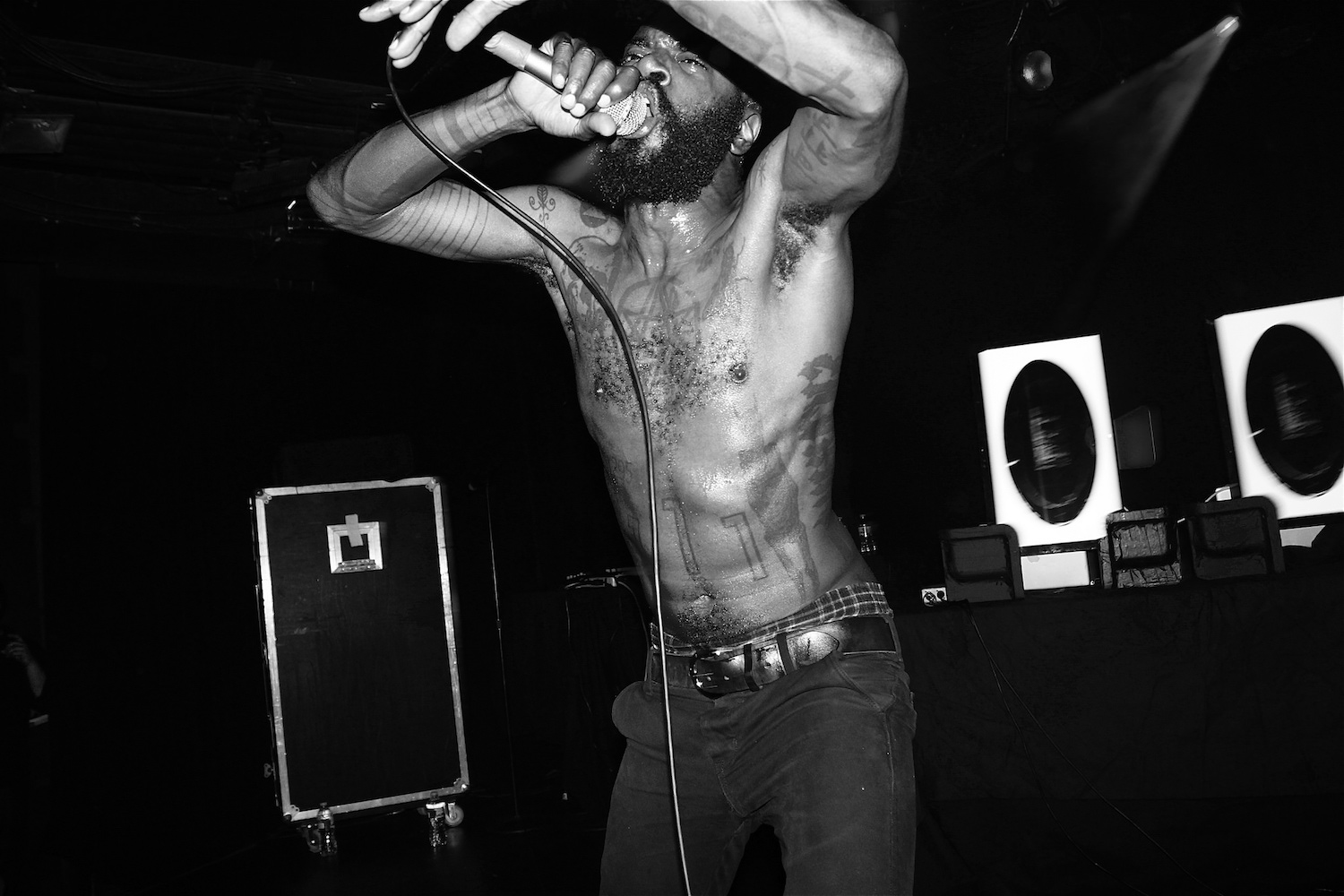 Death Grips live