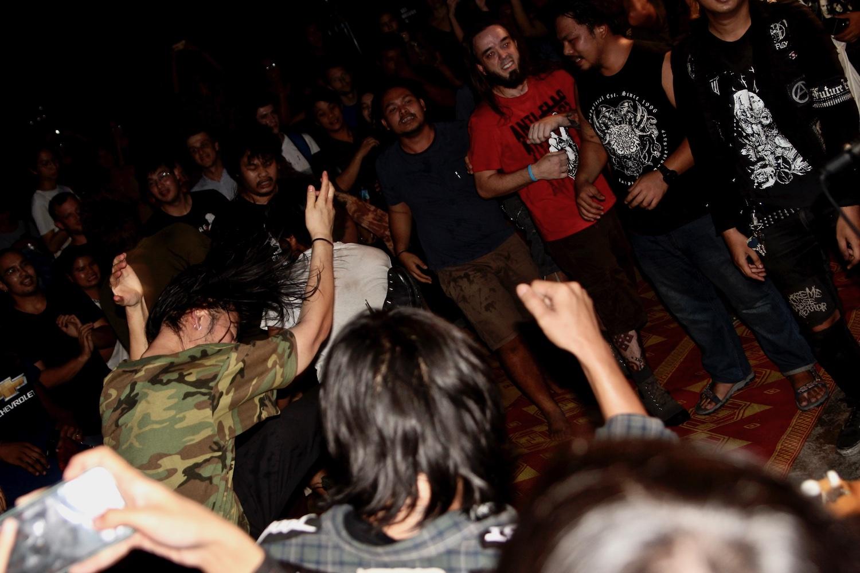 Rebel Riot live
