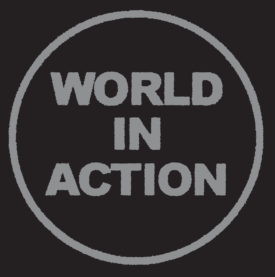 'World In Action' cover art
