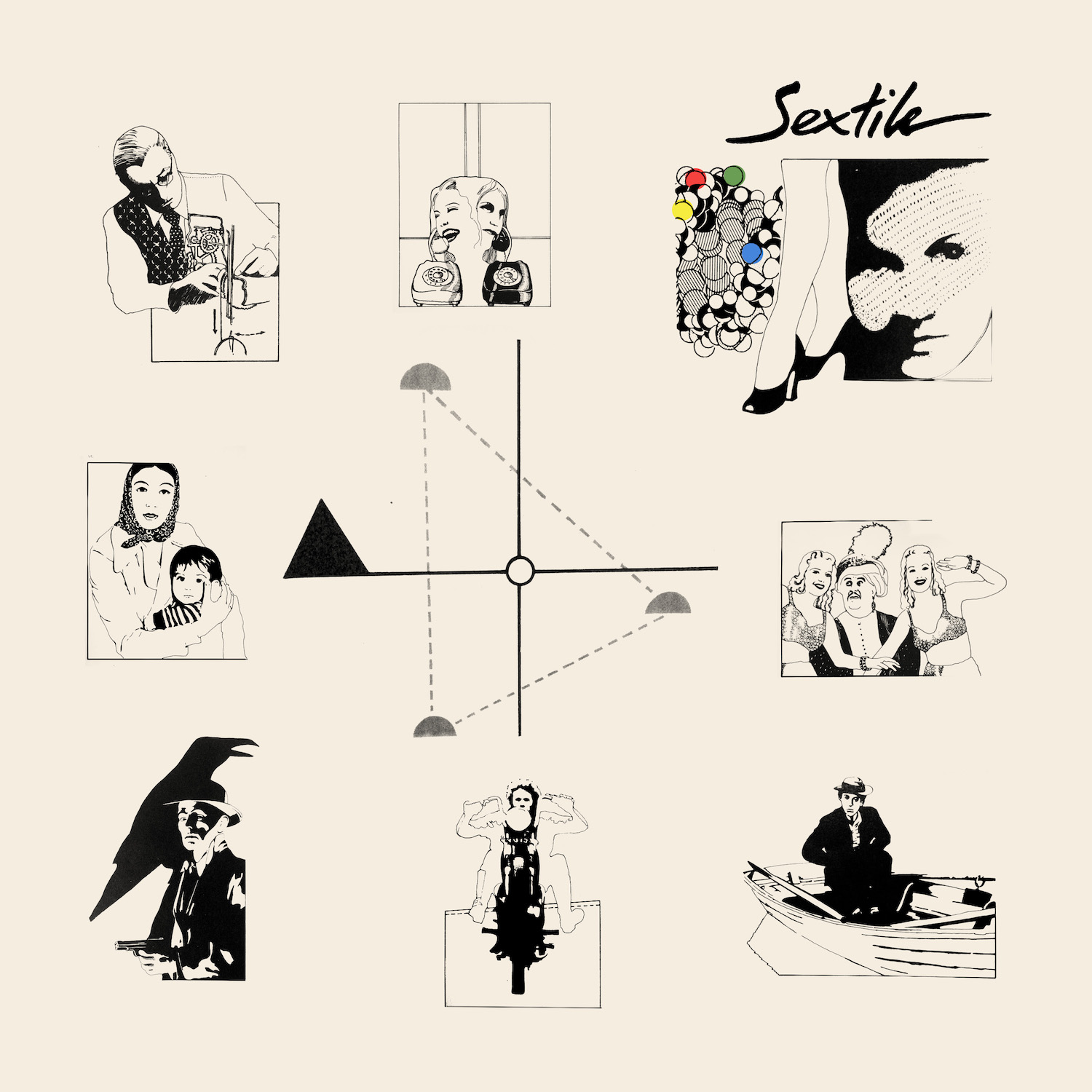 Sextile | Albeit Living album cover
