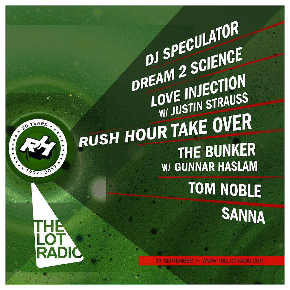 Rush Hour Music | Lot Radio
