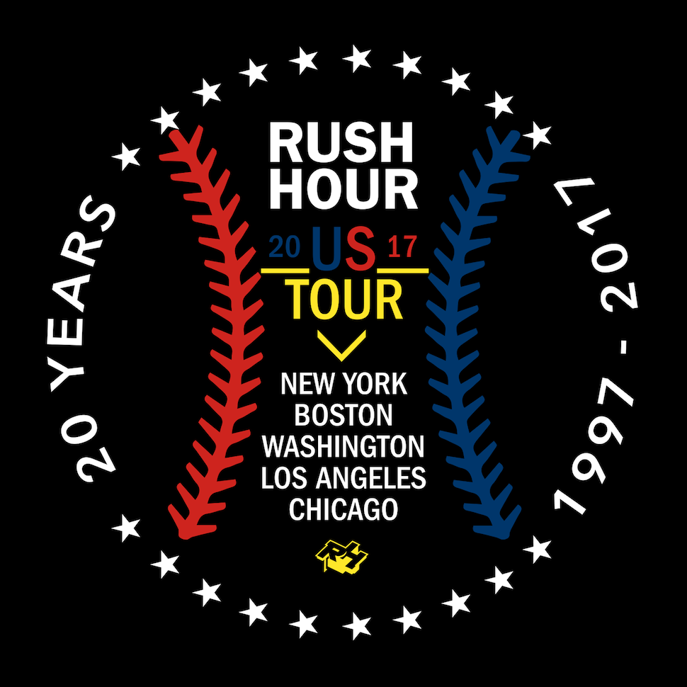 Rush Hour U.S. Tour flyer