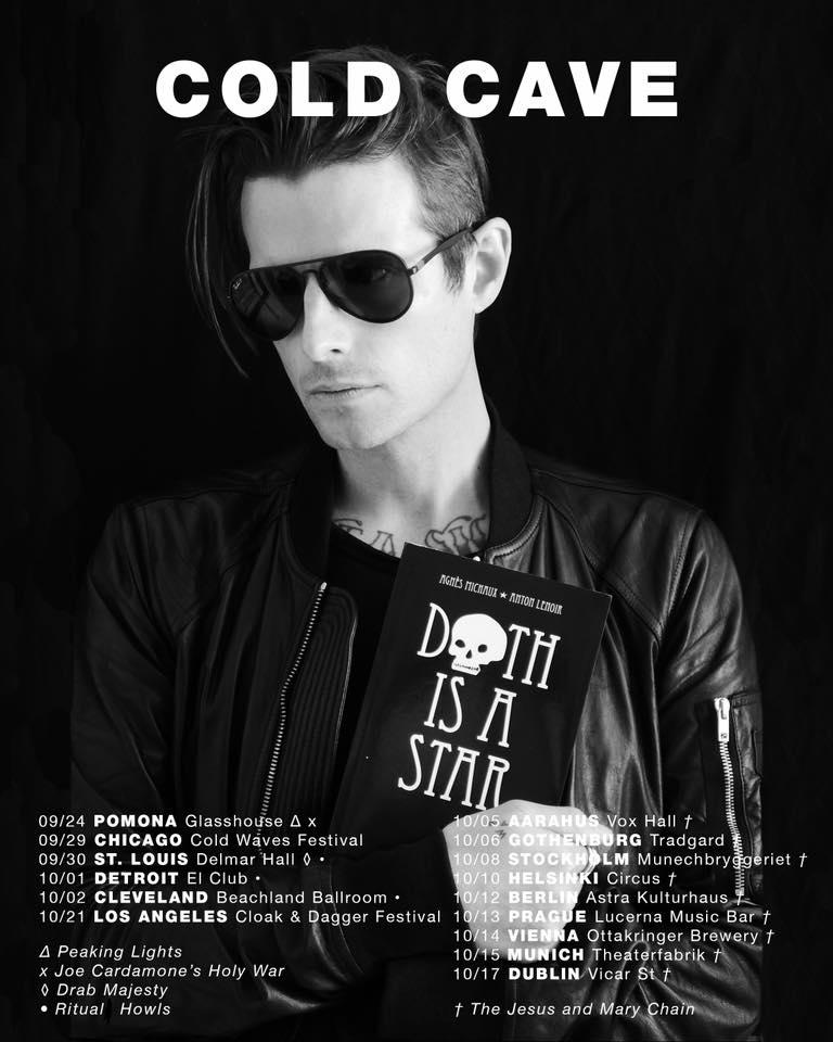Cold Cave tour dates 2017