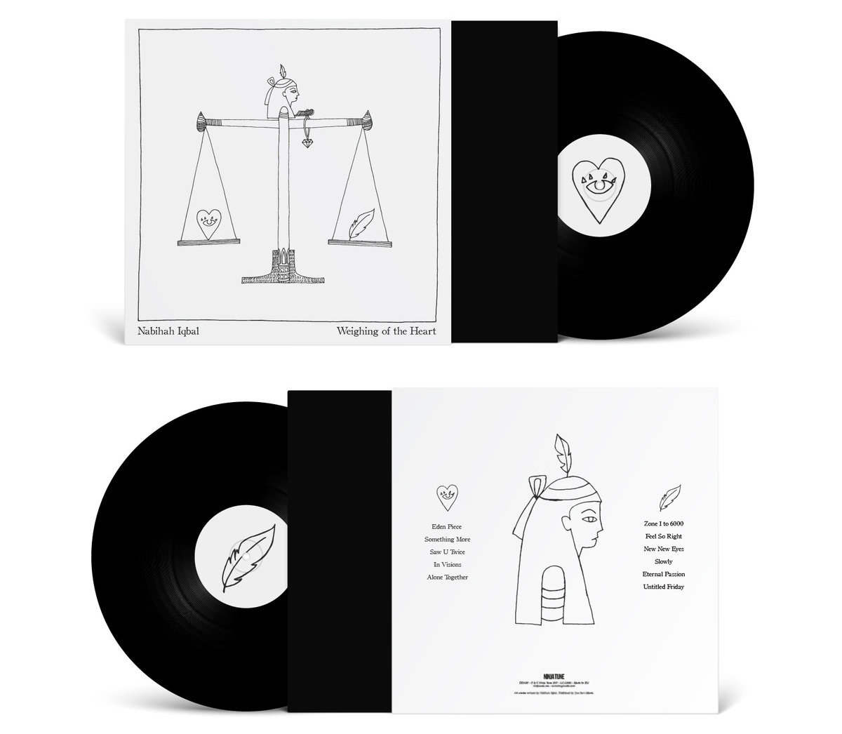 Nabihah Iqbal | Weighing of the Heart vinyl