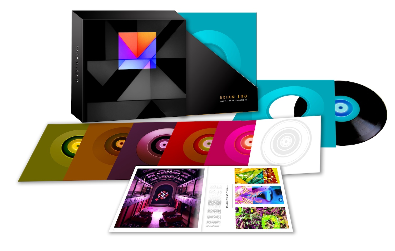 Brian Eno | Music For Installations vinyl box set