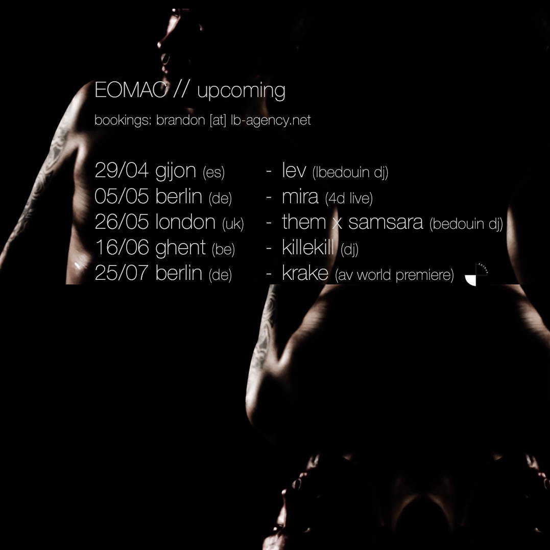 Eomac tour dates