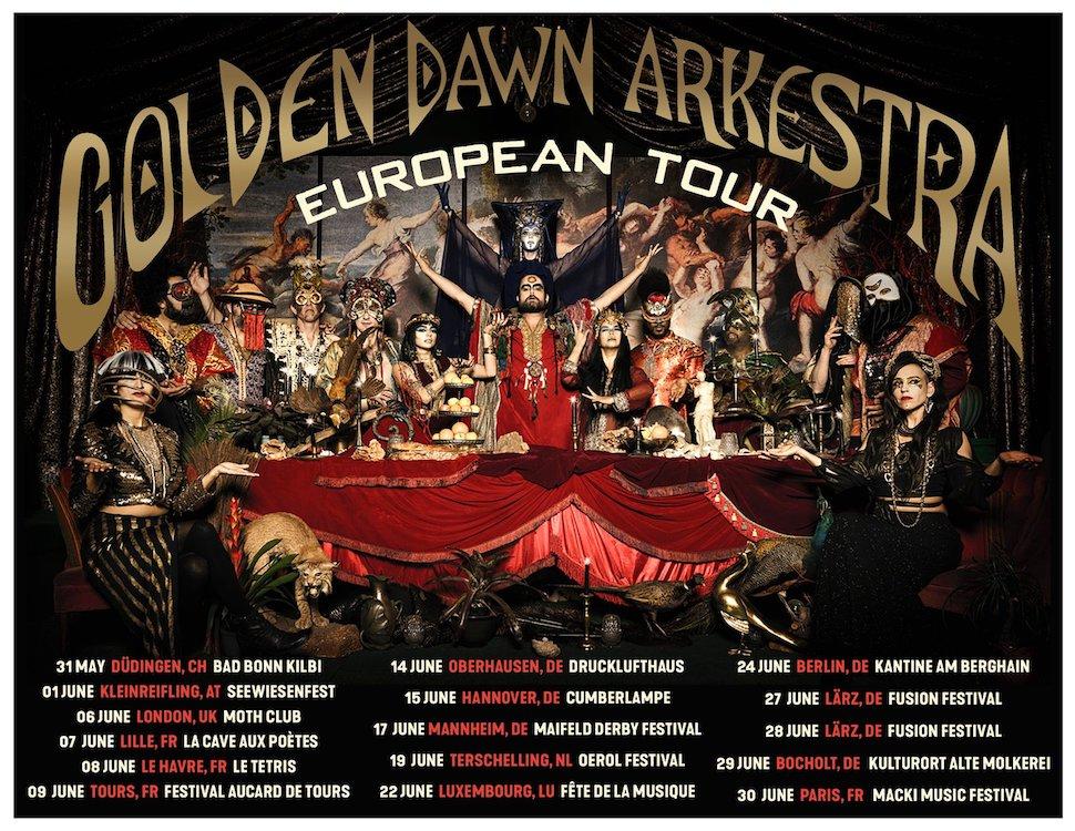 Golden Dawn Arkestra tour dates