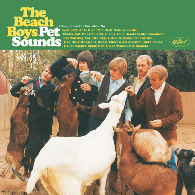 Beach Boys | Pet Sounds alum cover