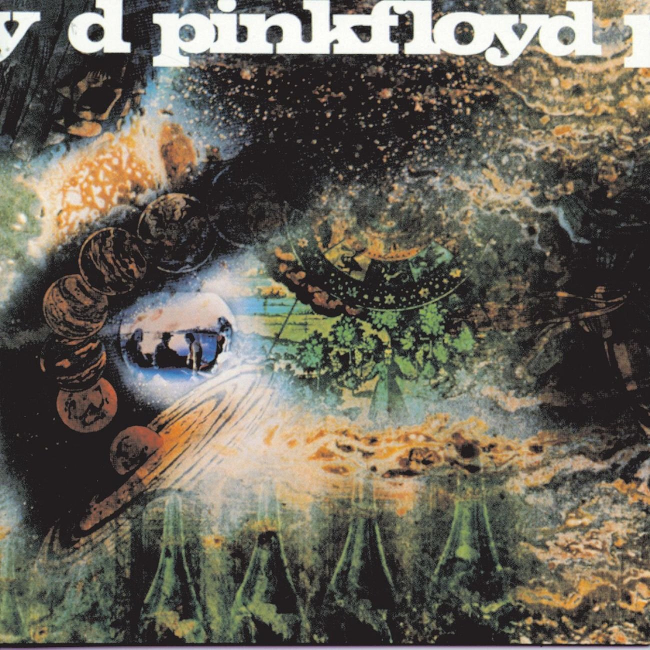 Pink Floyd | A Saucerful of Secrets album cover