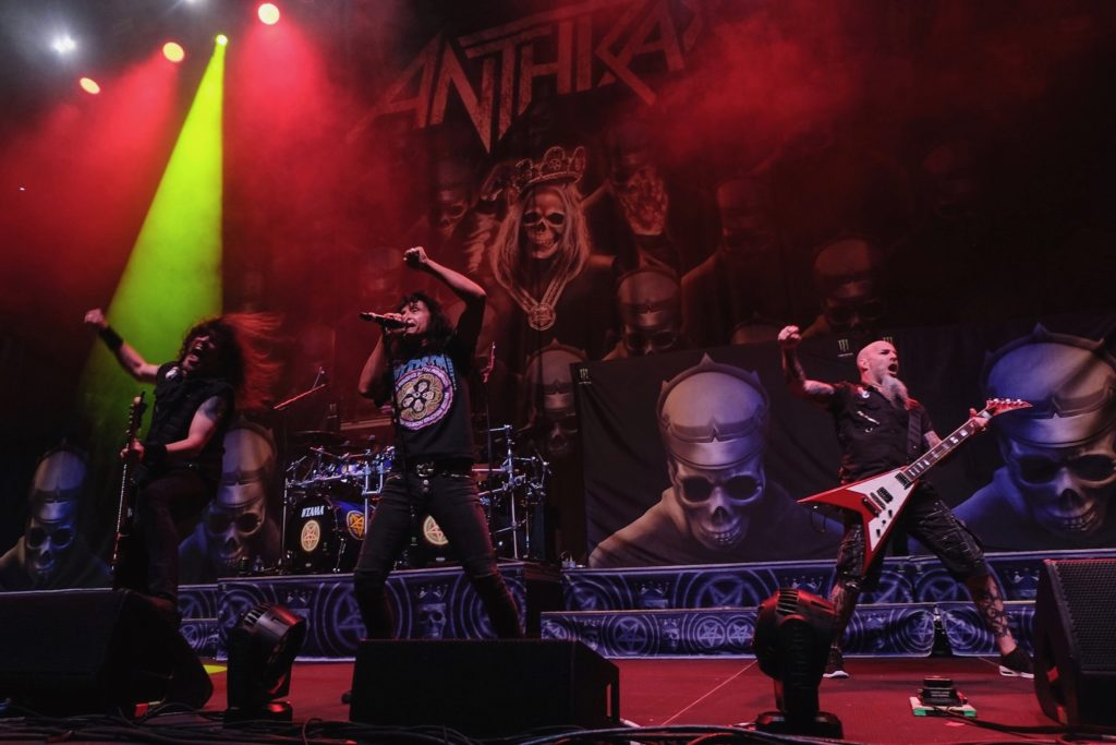 Anthrax live in Minneapolis