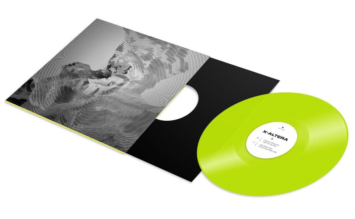 X-Altera cropped vinyl