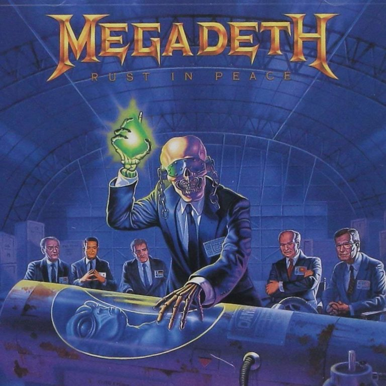 Megadeth | Rust in Peace album cover