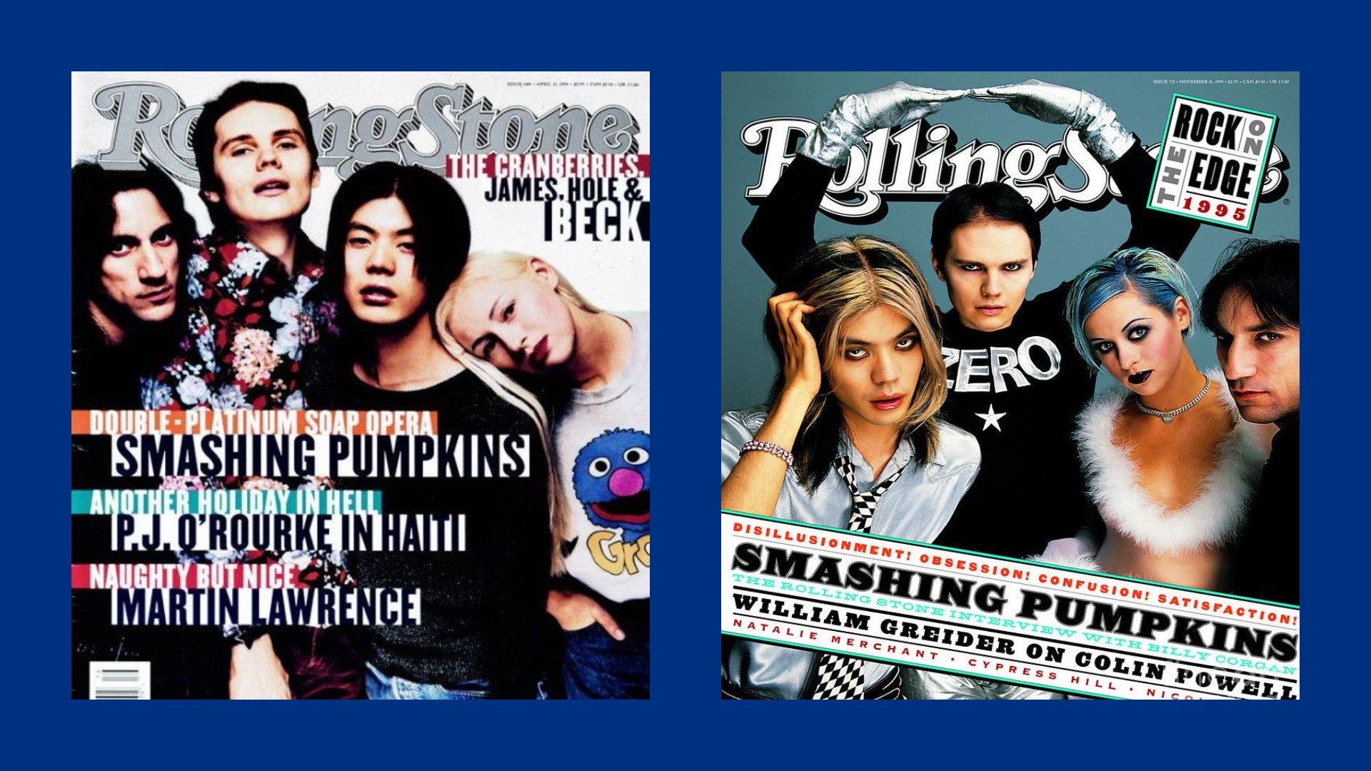 Smashing Pumpkins Rolling Stone covers