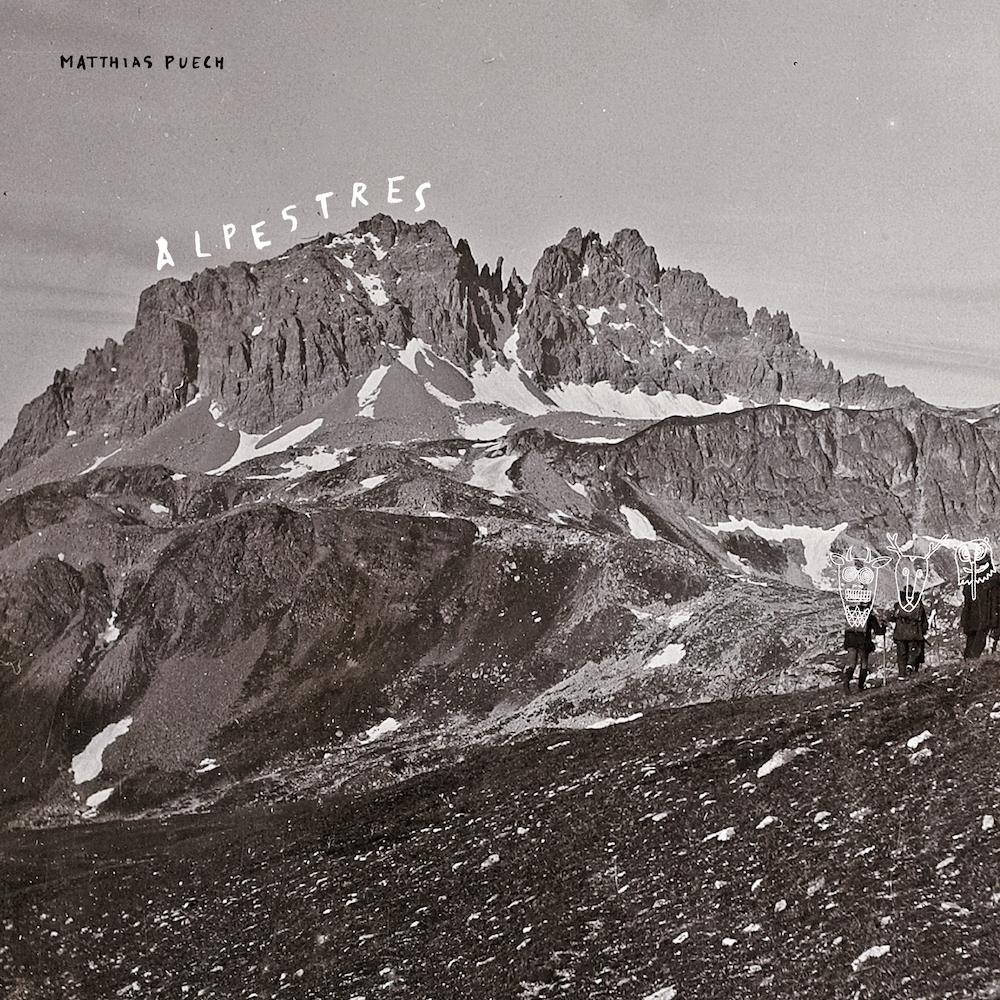 Matthias Puech   Alpestres album cover