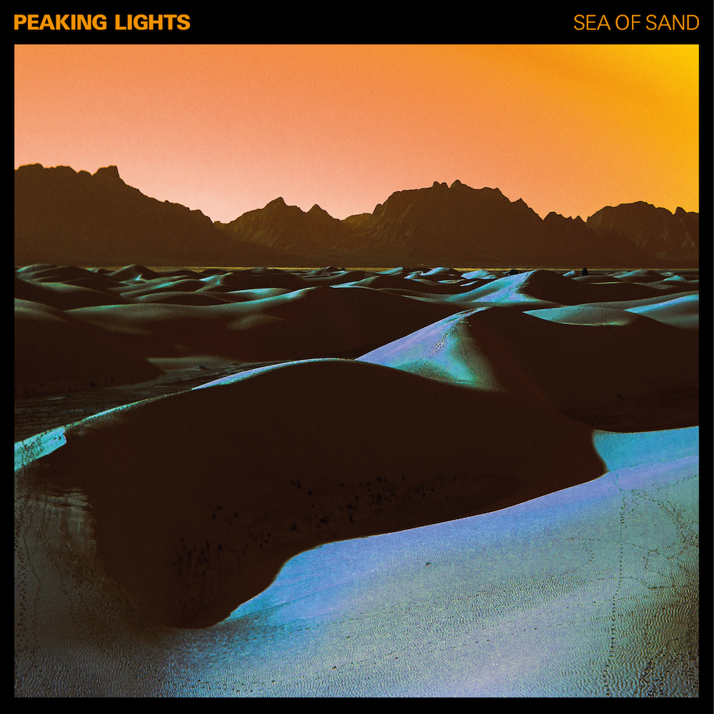 Peaking Lights | 'Sea of Sand' album cover