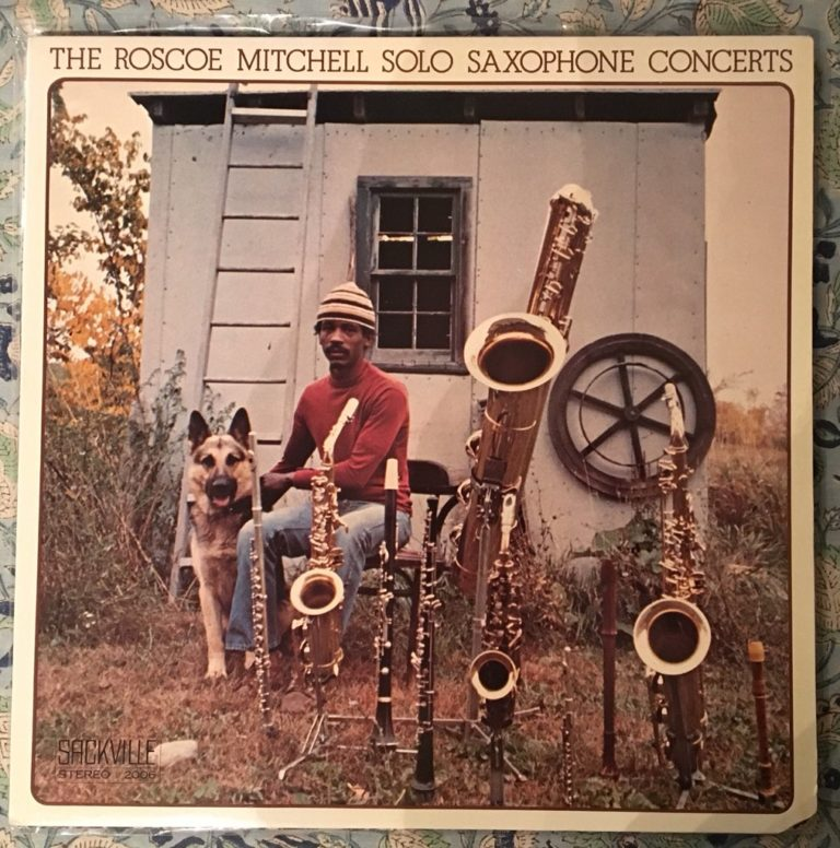 Roscoe Mitchell Solo Saxophone Concerts