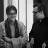 David Bowie and Gary Oldman