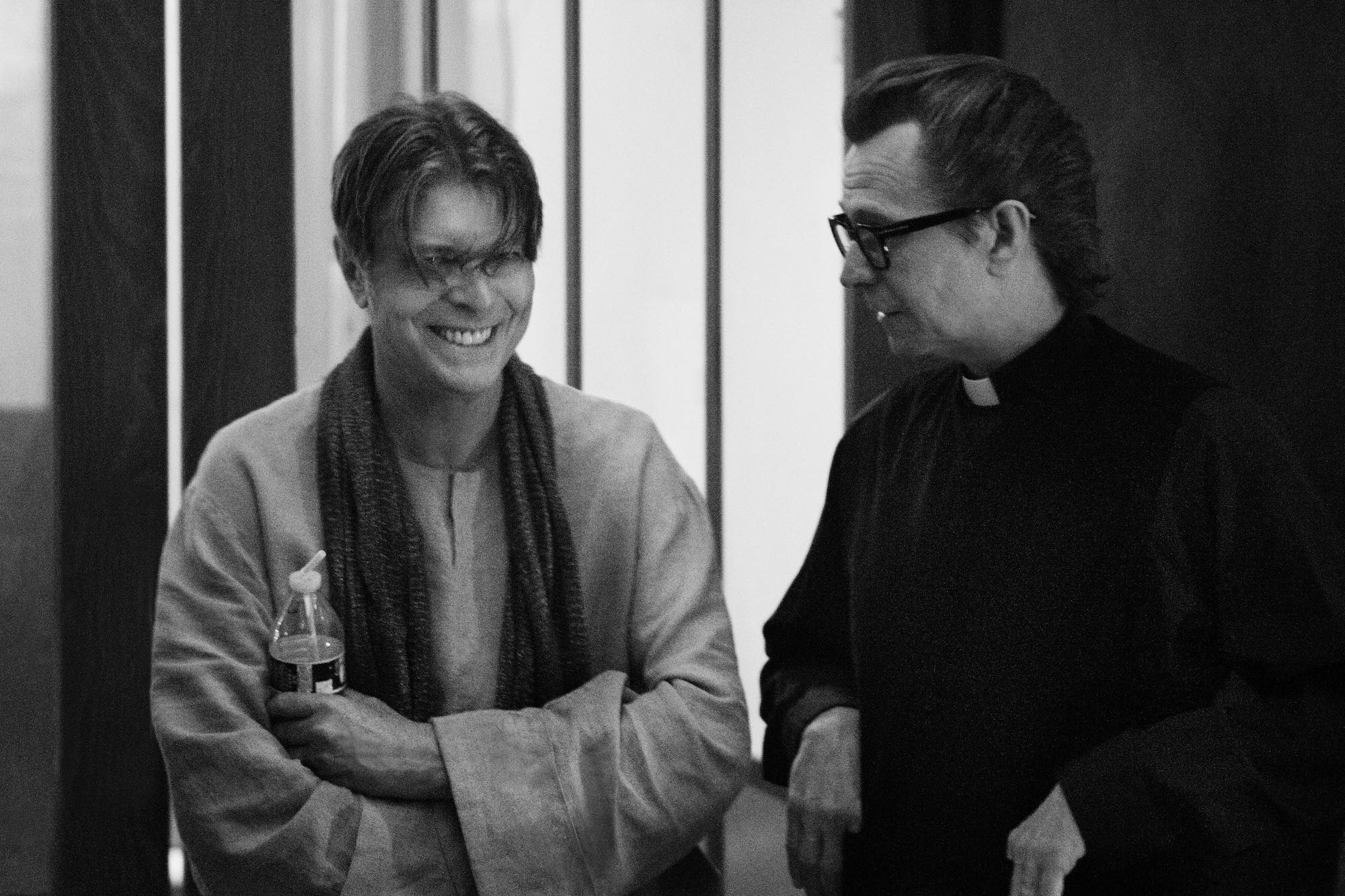 David Bowie and Gary Oldman
