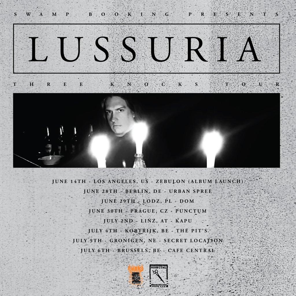 Lussuria flyer